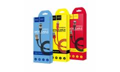 Кабель USB Hoco X26a Xpress Type C (черно-красный)