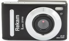 Цифровой фотоаппарат Rekam iLook S970i черный