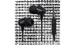 Наушники Ritmix RH-120M внутриканальные с микрофоном черные