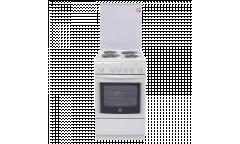 Плита Электрическая De luxe 506004.03э(кр) белая