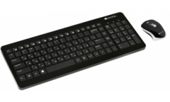 наб CANYON  wireless combo-set, keyboard 105 keys,  RU layout (black