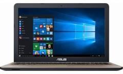 "Ноутбук Asus D540YA-DM708D AMD E1-7010 (1.5)/2G/500G/15.6"" FHD AG/R2/noODD/BT/DOS Chocolate Black"