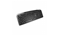 kbrd CANYON Keyboard CNE-CKEY2 (Wired USB, Slim, 116 keys with Multimedia functions, Black), Russian