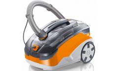Пылесос моющий Thomas Twin Pet & Family 1600Вт серый/оранжевый