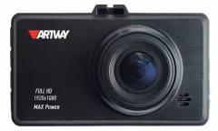Видеорегистратор Artway AV-400 Max Power черный 2Mpix 1080x1920 1080i 170гр.