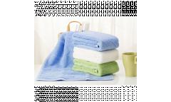 Хлопковое полотенце Xiaomi ZSH Youth Series 140 x 70, голубой