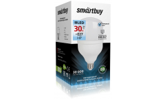 Светодиодная (LED) Лампа Smartbuy-HP-30W/4000/E27 _(Е40 переходник в комплекте)