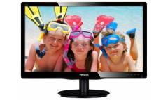 "Монитор Philips 22"" 220V4LSB (00/01) черный TN+film LED 5ms 16:10 DVI матовая 250cd 1680x1050 D-Sub HD READY 3.66кг"