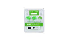 Наушники Gal M-005G внутриканальные зеленые