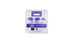 Наушники Gal M-005V внутриканальные фиолетовые
