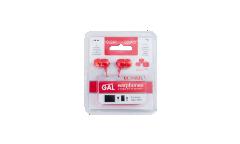 Наушники Gal M-005R внутриканальные красные
