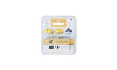 Наушники Gal M-005Y внутриканальные желтые