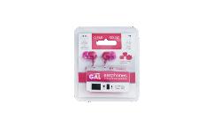 Наушники Gal M-005P внутриканальные розовые
