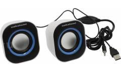 Компьютерная акустика Nakatomi BC-05UP 2.0 USB черно-белая