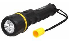 Фонарь SmartBuy Niagara резиновый светодиодный 3 Led (2АА) черный