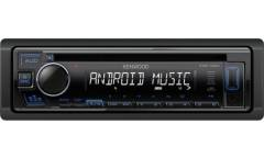 Автомагнитола CD Kenwood KDC-130UB 1DIN 4x50Вт