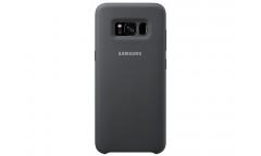 Оригинальный чехол (клип-кейс) для Samsung Galaxy S8+ Silicone Cover темно-серый (EF-PG955TSEGRU)
