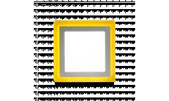 Встраиваемый (LED) светильник с подсветкой DLB-Square Smartbuy-13w/6500K+O/IP20 _квадрат