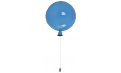 Люстра-Бра_DE FRAN_SP1-2083-1BL _E27 _1*20Вт _+ выключатель,  синий акрил d25*h28см