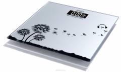 Весы напольные электронные Ampix AMP-7245 стекло с узором 180 КГ
