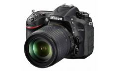 "Зеркальный Фотоаппарат Nikon D7200 черный 24.2Mpix 18-105mm f/3.5-5.6G VR 3.15"" 1080p Full HD SDXC Li-ion"