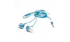 Наушники Auzer AE-7BE внутриканальные с микрофоном (Blue)