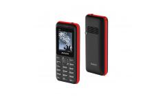 Мобильный телефон teXet TM-218 цвет черный-красный