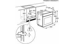 Духовой шкаф Газовый Electrolux OPEB4534Z черный