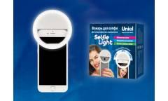 Фонарь Uniel S-HL100-B White Фонарь серии Стандарт «Selfie light». 36 LED. 2хААА н/к