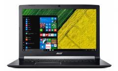 "Ноутбук Acer Aspire 7 A717-72G-58ZK Core i5 8300H/8Gb/1Tb/nVidia GeForce GTX 1060 6Gb/17.3""/FHD (1920x1080)/Windows 10 Home/black/WiFi/BT/Cam"