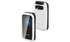 Мобильный телефон Maxvi E2 white