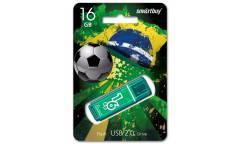 USB флэш-накопитель 16Gb SmartBuy Hatch зеленый USB2.0