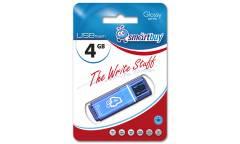 USB флэш-накопитель 4GB SmartBuy Glossy series синий USB2.0