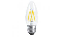 Светодиодная (LED) Лампа FIL (прозрачная) FOTON-C37-6W/3000/E27
