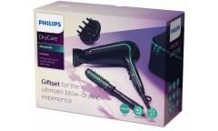 Фен Philips BHP942/00 DryCare 2200Вт черный (подарочный набор)