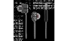 Наушники Ritmix RH-196M внутриканальные с микрофоном Black