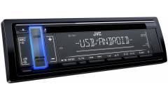 Автомагнитола CD JVC KD-T401 1DIN 4x50Вт
