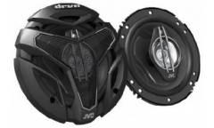 Колонки автомобильные JVC CS-ZX630U 300Вт 89дБ 4Ом 16см (6дюйм) (ком.:2кол.) коаксиальные трехполосн