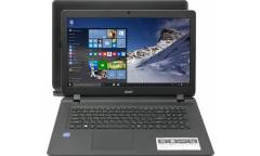 "Ноутбук Acer Aspire ES1-732-P2P8 Pentium N4200/4Gb/1Tb/DVD-RW/Intel HD/17.3""/Windows 10/black"