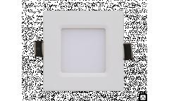 Панель светодиодная квадратная ASD SLP-eco 6Вт 230В  4000К 420Лм 108х108х23мм белая IP40