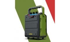 Беспроводная (bluetooth) акустика W-King H2 (зеленый)