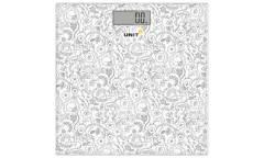 Весы напольные электронные Unit UBS-2052  сетло-серые
