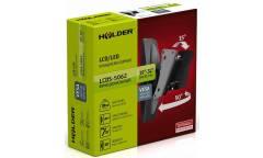 "Кронштейн для телевизора Holder LCDS-5062 белый 19""-32"" макс.30кг настенный поворот и наклон"