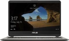 "Ноутбук Asus VivoBook X507UA-EJ1148 Pentium 4417U/4Gb/SSD128Gb/Intel UHD Graphics 620/15.6""/FHD (1920x1080)/Endless/grey/WiFi/BT/Cam"