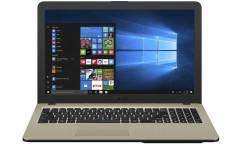 "Ноутбук Asus VivoBook X540BP-GQ134 A6 9225/4Gb/SSD256Gb/AMD Radeon R5 M420 2Gb/15.6""/HD (1366x768)/Endless/black/WiFi/BT/Cam/Bag"