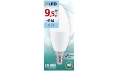 Светодиодная (LED) Лампа Smartbuy-C37-9,5W/6000/E14