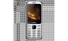 Мобильный телефон Nobby 320 серебристый
