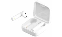 Наушники беспроводные (Bluetooth) Xiaomi Mi True Wireless Earphones 2 Basic (White) (TWSEJ08WM)