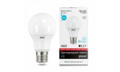 Лампа светодиодная GAUSS _A60_07W/4100K_E27 _Стандарт