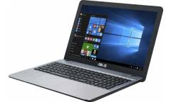 "Ноутбук Asus VivoBook D541NA-GQ403T Celeron N3350/4Gb/500Gb/Intel HD Graphics 500/15.6""/HD (1366x768)/Windows 10/silver/WiFi/BT/Cam"